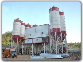 produsen china 2x150m3 h Concrete Batching Plant, suplier