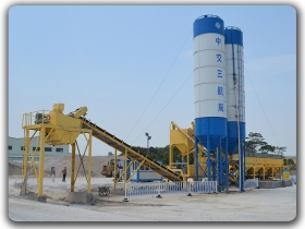 300T h tanah Mixing Plant